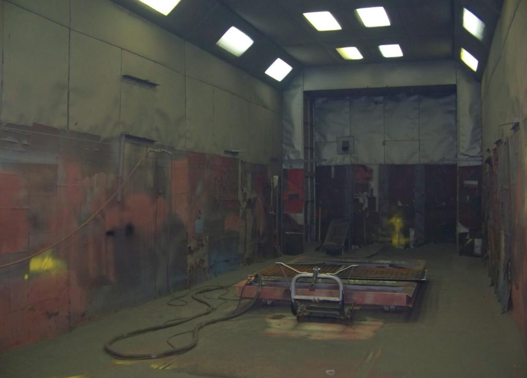 Sandblast Room
