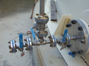 3006-11 O2 and SO2 Mechanical piping installation 001